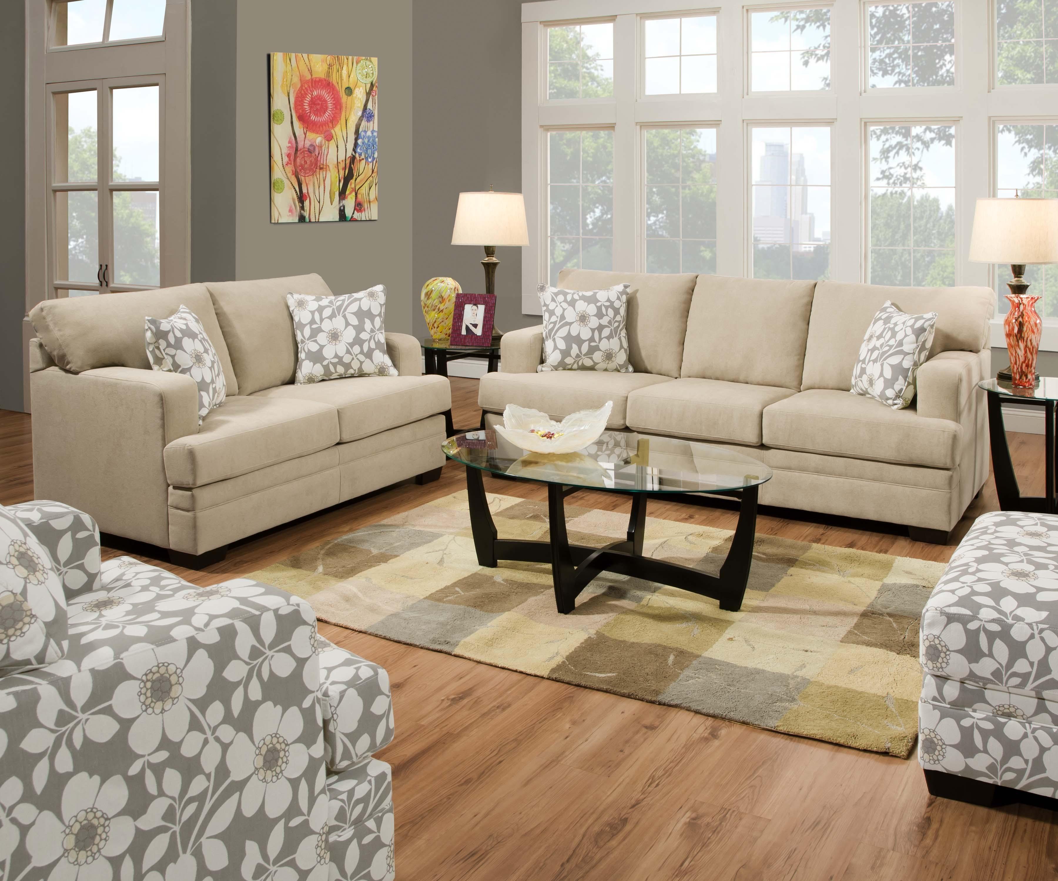 6491 caprice hemp madison furniture direct - Cojines para sofas de piel ...